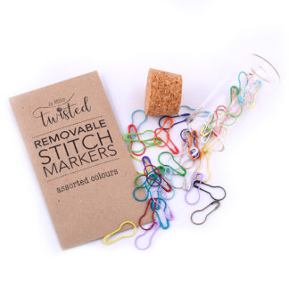 Stitch Markers - A Little Twisted